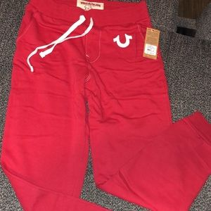 Brand new True Religion Sweat Pants original